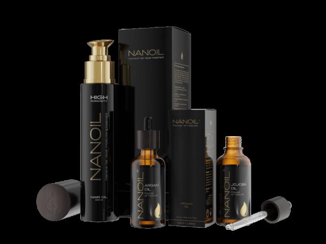 Den beste håroljen - Nanoil